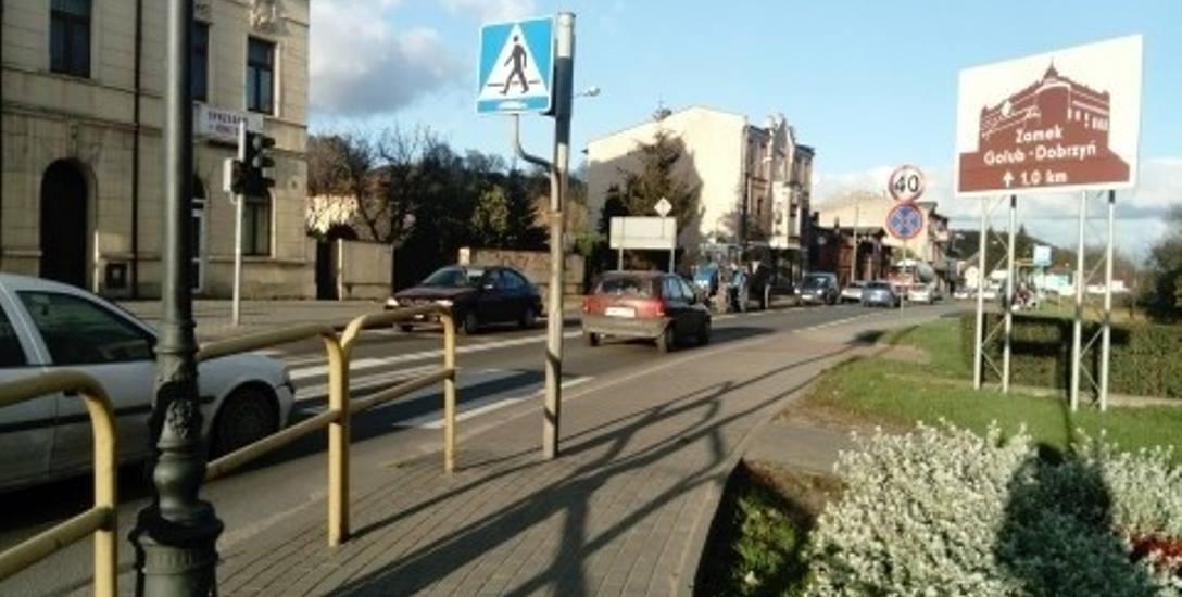 Jest nadzieja, że jeszcze w tym roku ruch w Golubiu-Dobrzyniu będzie płynniejszy. Przebudowa skrzyżowania ulic Hallera-Wodna-Zamkowa, z niezbyt udaną