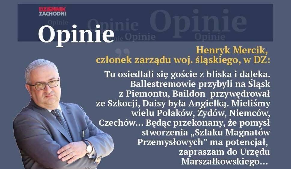 Film do artykułu: Mercik: Szlak Magnatów Przemysłowych ma potencjał. W Katowicach odbędzie się spotkanie