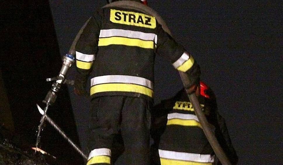 Film do artykułu: Gmina Rusinów: duży pożar gospodarstwa w Przystałowicach Małych