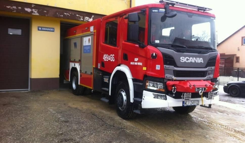 Film do artykułu: W Solcu nad Wisłą jest nowoczesny wóz strażacki. Jednostka OSP po 20 latach oczekiwania ma najnowocześniejszą scanię za ponad milion złotych
