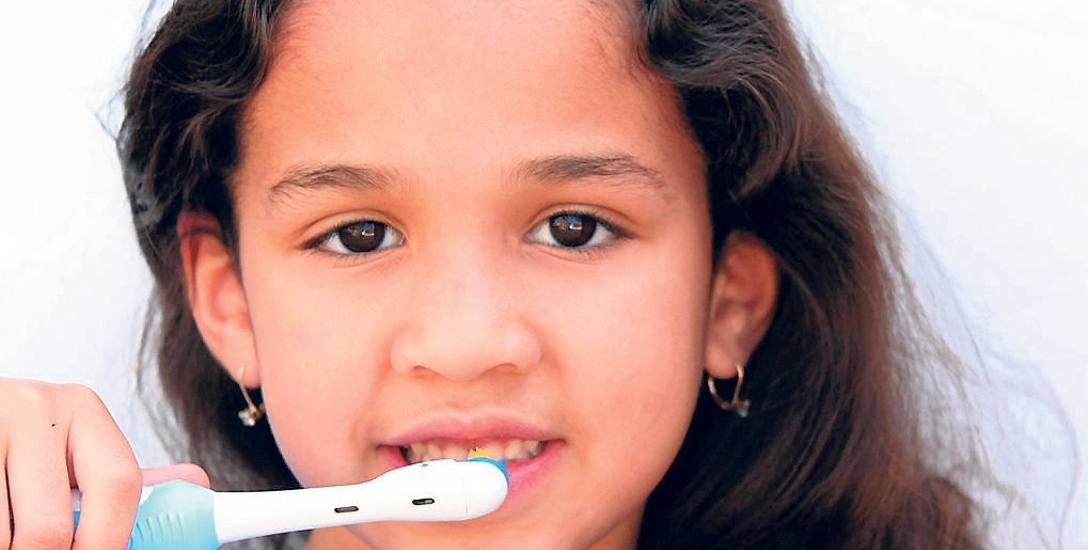 O zęby musimy dbać od małego