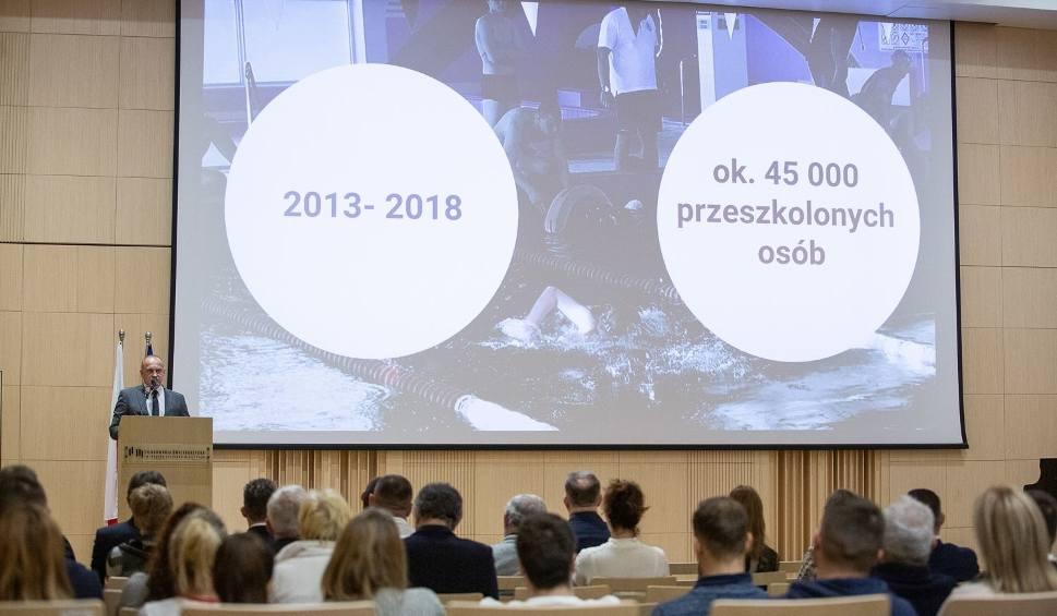 Film do artykułu: Świętokrzyskie Wodne Ochotnicze Pogotowie Ratunkowe ma nowe władze i... logo