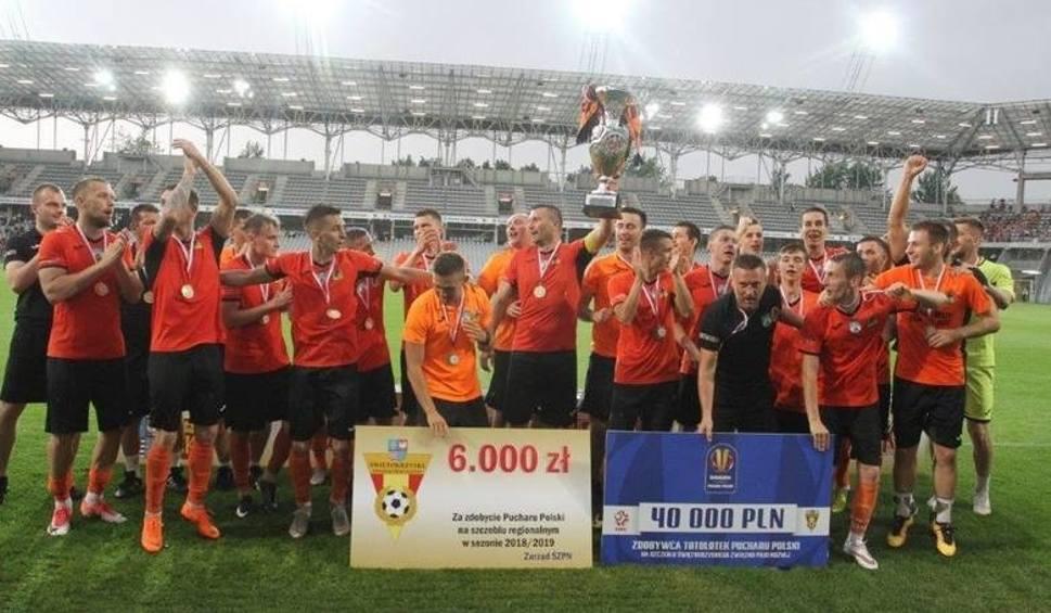 Film do artykułu: Organizatorzy i ostatni uczestnicy mówią jednym głosem - finał regionalnego Pucharu Polski powinien odbywać się na stadionie Korony!