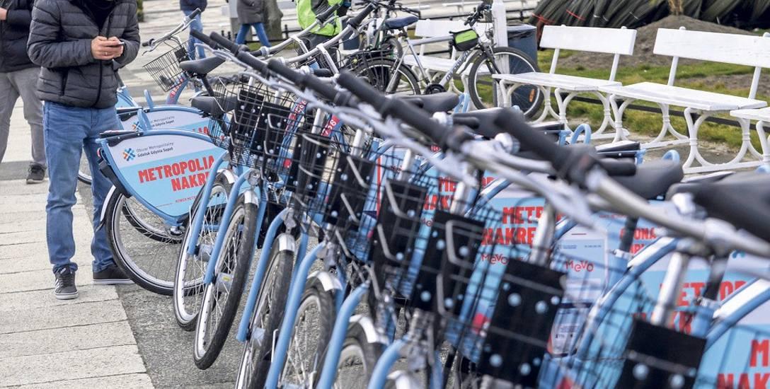Rowery Mevo po tygodniu: popularność przerosła wyobrażenia i możliwości