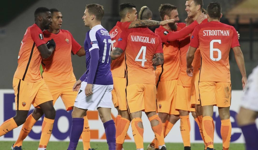 Liga Europy. Roma pokonała Austrię. Giallorossi powetowali remis w ...