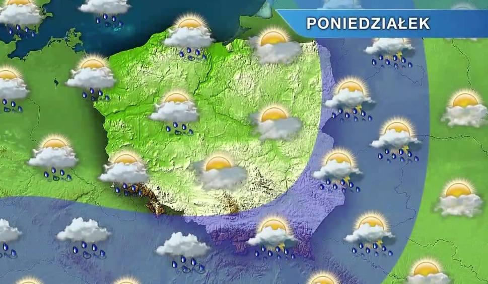 Film do artykułu: Pogoda w Opolu i na Opolszczyźnie. Piątek ciepły i deszczowy