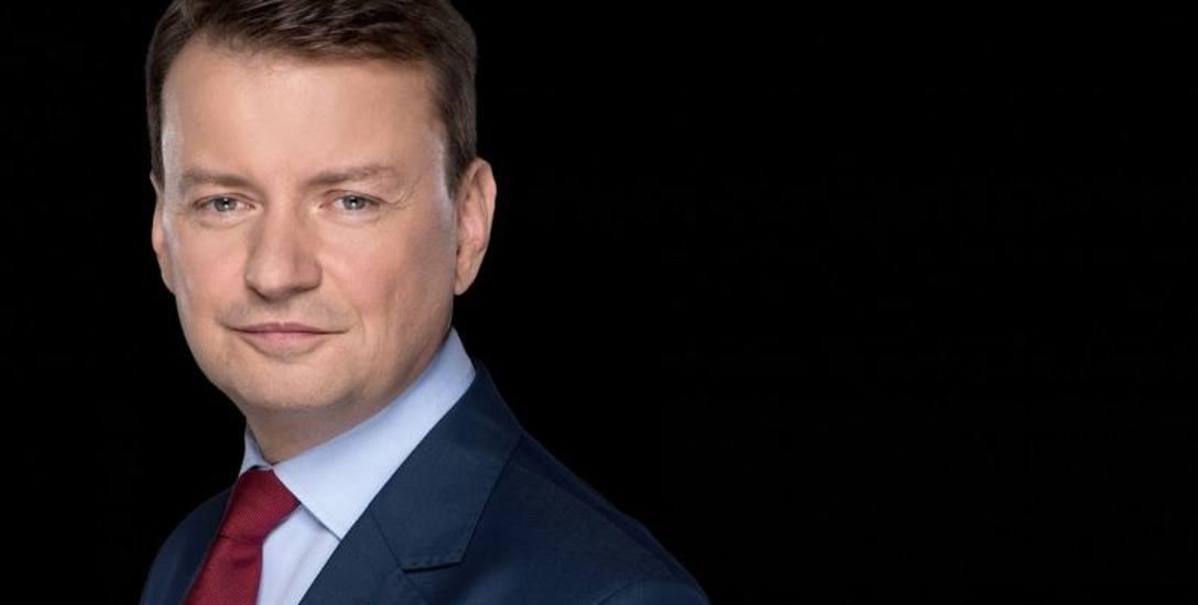 MARIUSZ BŁASZCZAK, Minister Spraw Wewnętrznych i Administracji