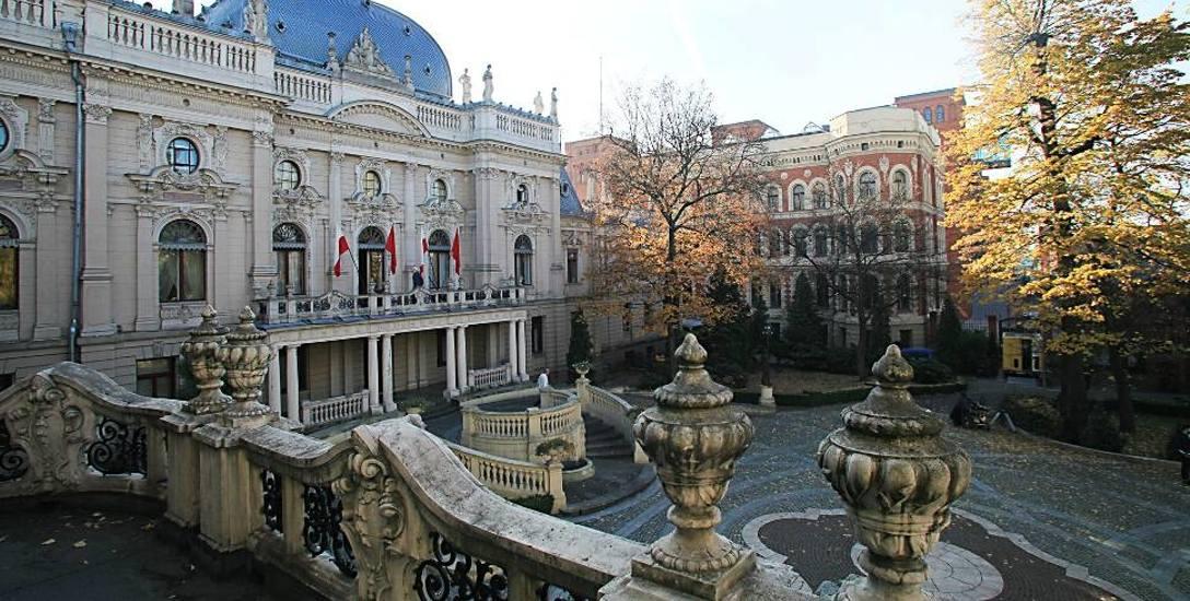 Włamał się do pałacu Izraela Poznańskiego. Ma na koncie 40 przestępstw