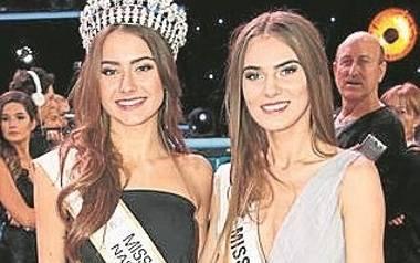 Patrycja Pabis z Masłowa- Miss Polski Nastolatek 2016 i Ewa Kuras.