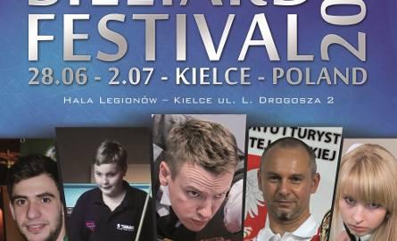 Bilardowy festiwal w Kielcach pełen gwiazd