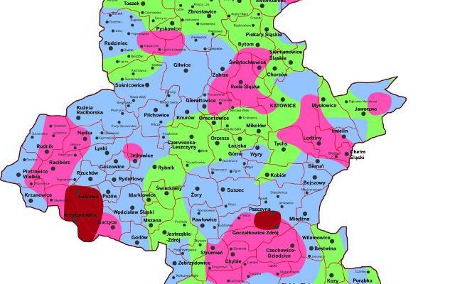Mapa Slaska Dziennikzachodni Pl