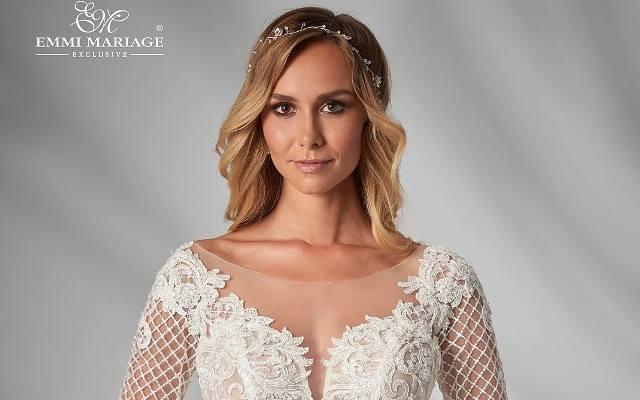 e73342dacd23f7 Najmodniejsze suknie ślubne. Klasyczna, koronkowa, a może w odcieniu  brzoskwini?