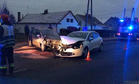 Wypadek w Lędzinach pod Opolem.