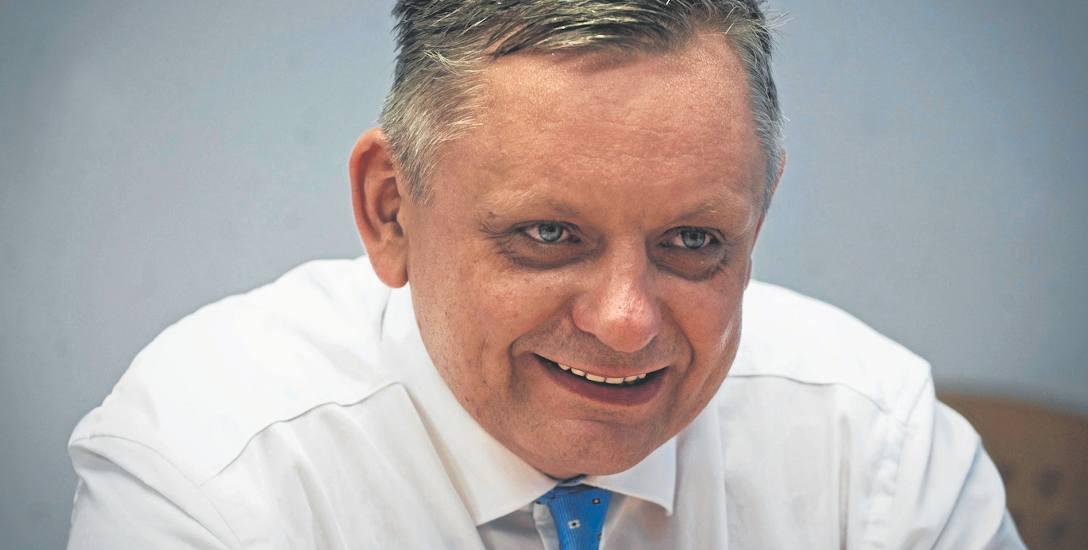 Prezydent Koszalina Piotr Jedliński odpowiadał na pytania mieszkańców