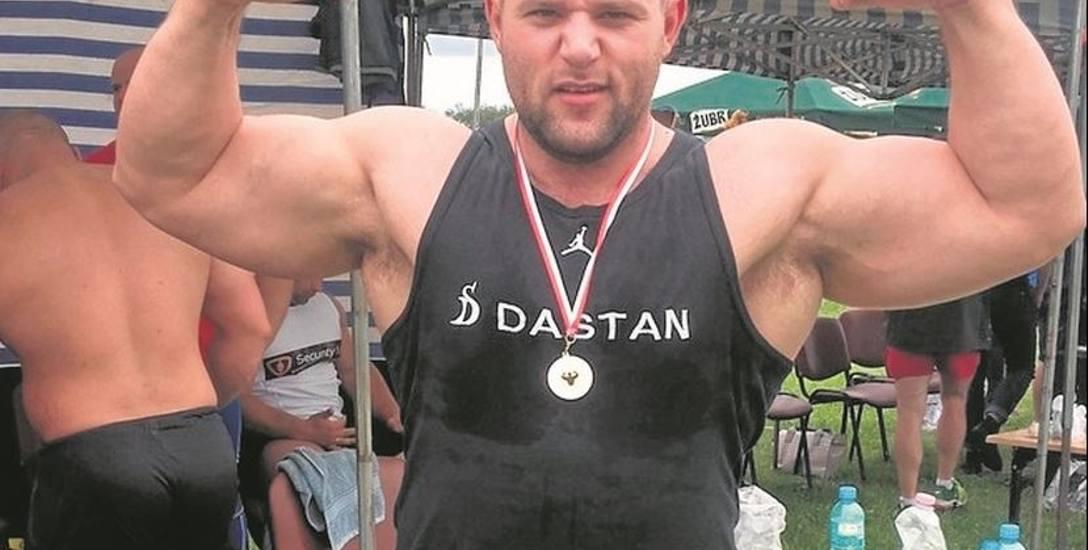 Strongman   je, żeby...   nie schudnąć