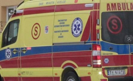Wypadek w Kielcach. Kobieta potrącona przez dostawczaka