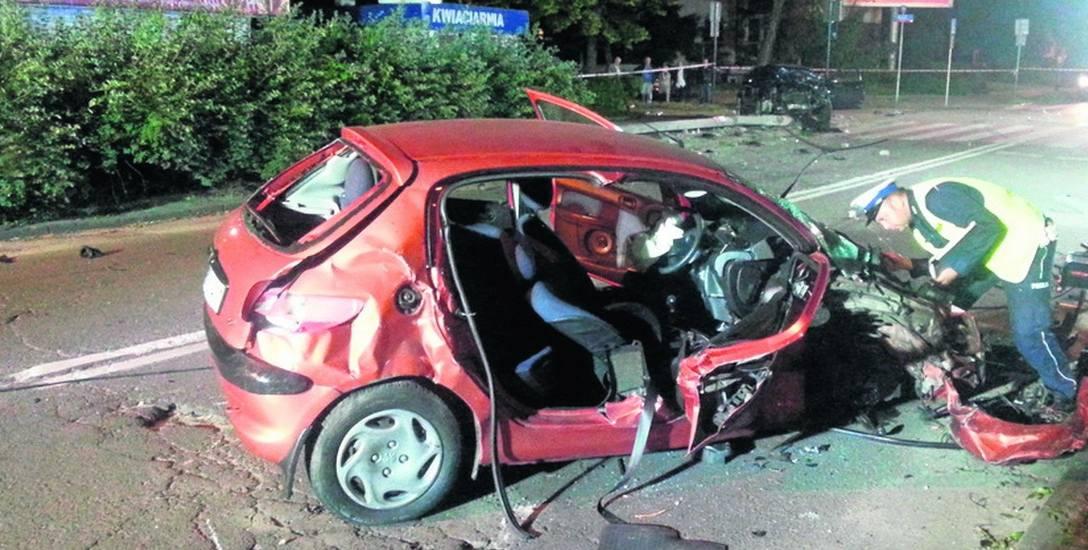 Cztery osoby ranne na ulicy Pojezierskiej