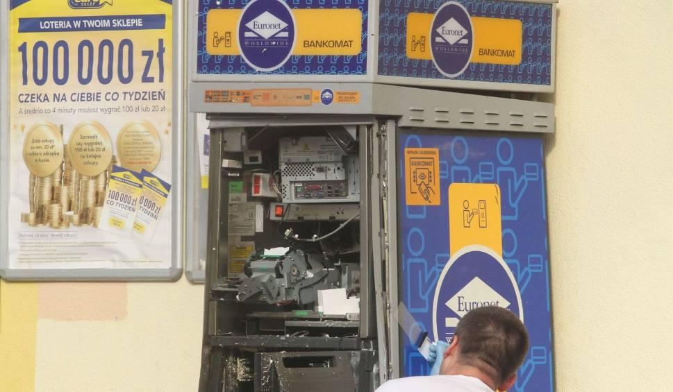 Film do artykułu: Złodzieje wysadzili w powietrze bankomat w Kielcach