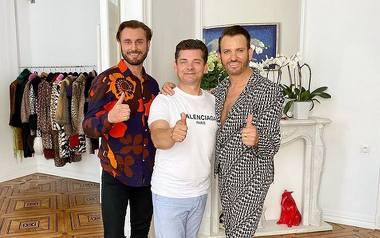 """Zenek Martyniuk z rodziną ubierają się u słynnego Gabriela z hitu TTV """"Królowe życia"""""""