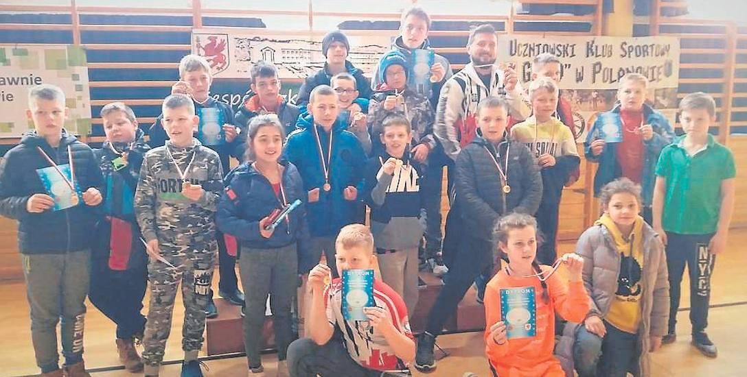 Znakomite otwarcie sezonu młodych wolniaków z ZKS Koszalin w Polanowie