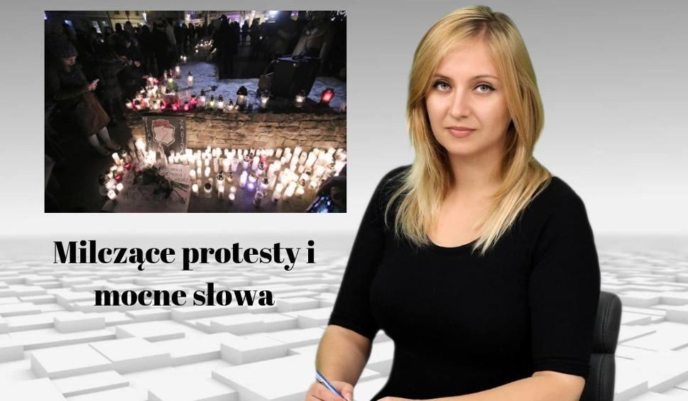 Film do artykułu: WIADOMOŚCI ECHA DNIA. Milczące protesty i mocne słowa