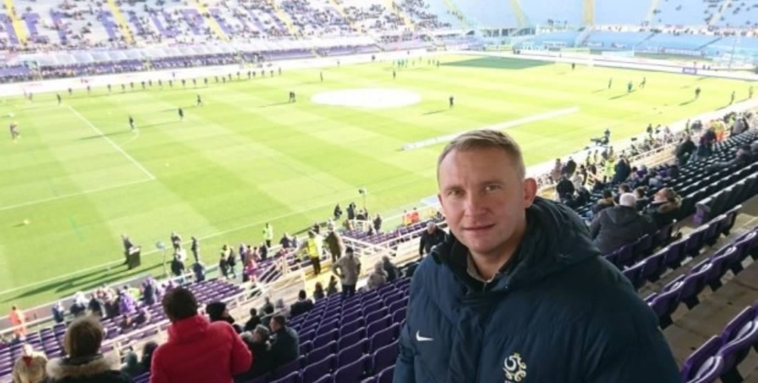 Trener miał okazję zobaczyć z trybun mecz Fiorentiny