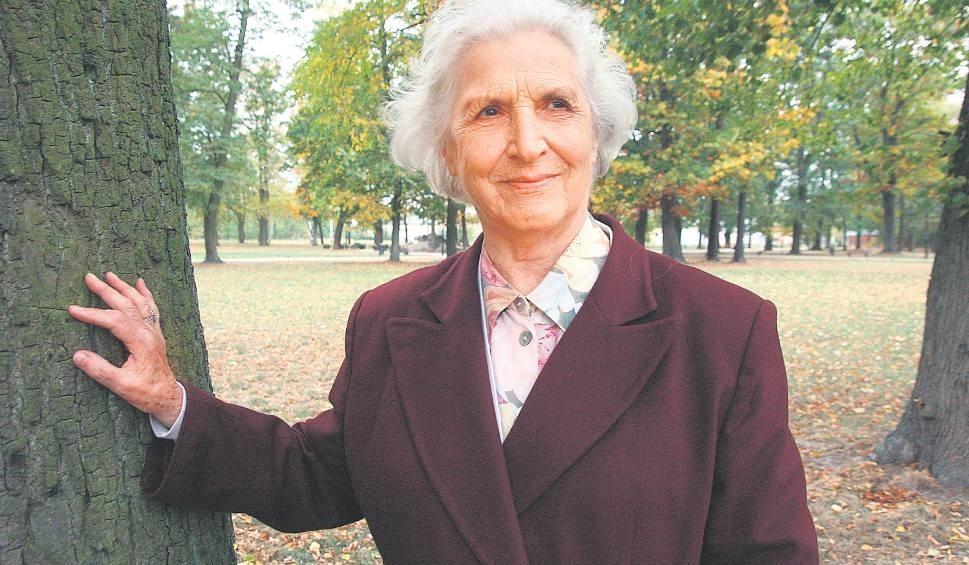 Barbara Lewandowska w Łambinowicach po 71 latach