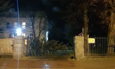 Wichura w regionie. Powalone drzewa, zerwane dachy. Tysiące ludzi bez prądu