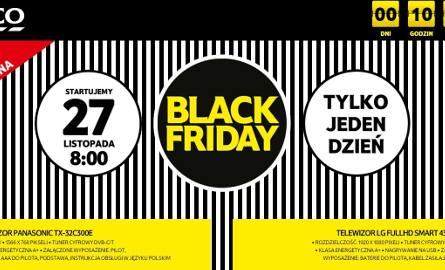 Black Friday, 27 listopada. Obniżki i rabaty w sklepach
