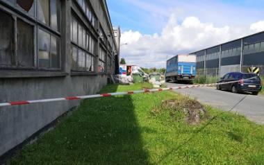 Tragiczną śmierć poniósł w miejscu pracy także mężczyzna w Grudziądzu