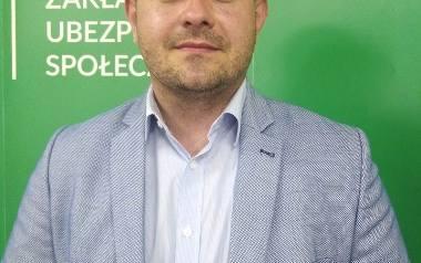 Wojciech Dyląg, regionalny rzecznik Zakładu Ubezpieczeń Społecznych w województwie podkarpackim