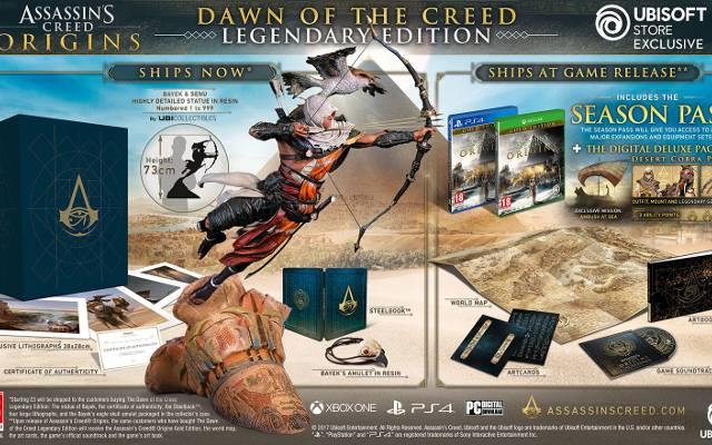 Assassin's Creed Origins: Zwiastun, gameplay i edycje kolekcjonerskie (wideo)