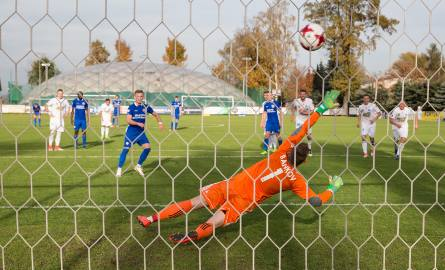Piłkarze Ruchu przegrali w Niepołomicach z Puszczą