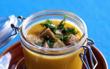 Zupa z dyni - prosta i pyszna.