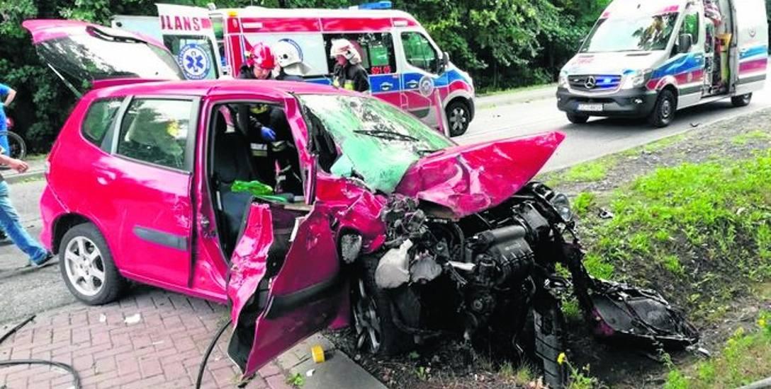 Do tragicznego wypadku doszło 14 sierpnia na drodze wojewódzkiej 786 w Jaskrowie w gminie Mstów