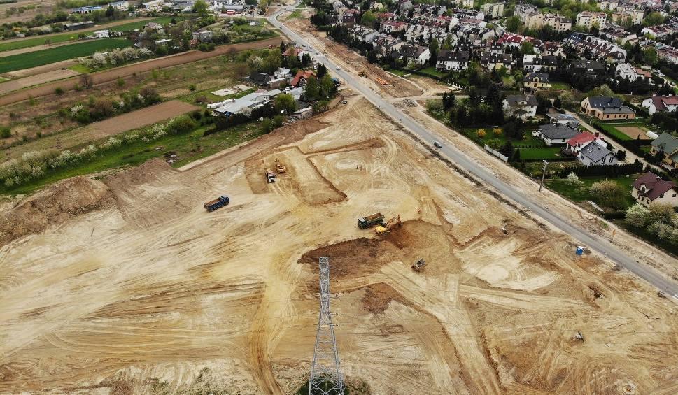 Film do artykułu: Przebudowa ulicy Choiny w Lublinie na ZDJĘCIACH I WIDEO Z DRONA