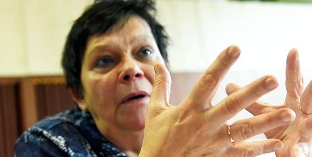 Barbara Stoma - Mirzwińska związkowiec z SP nr 13 w  Zielonej Górze uważa, że to, co proponuje ministerstwo, to nie są żadne podwyżki