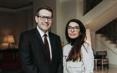 Inauguracja Klubu Champions of Change - ambasador Australii Paul Wojciechowski i Olga Kozierowska Fundacja Sukces Pisany Szminka