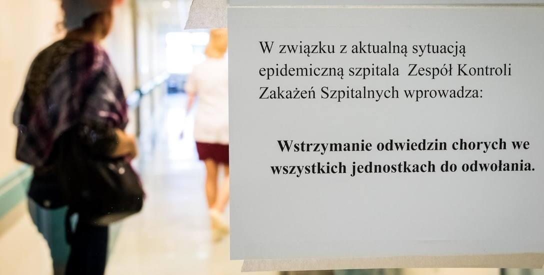 Rok temu z powodu grypy zamknięto szpitalne oddziały. Czy i w tym roku tak się stanie?