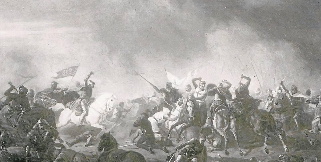 Bitwa pod Płowcami w oparach mgły na obrazie Feliksa Sypniewskiego