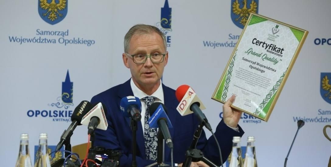 Opolski samorząd województwa wzorowo promuje zdrowie