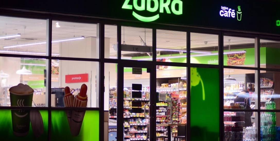 W sklepach takich jak na zdjęciu najczęściej dochodzi do napaści na ekspedientki.
