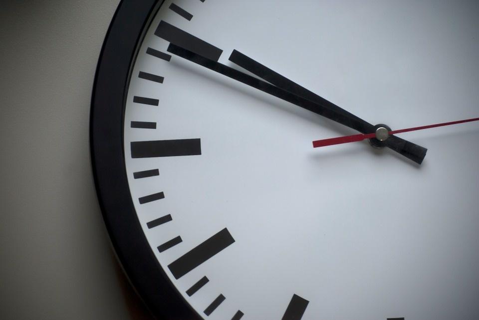 Zegar stojący przy Arsenale jest własnością miasta.