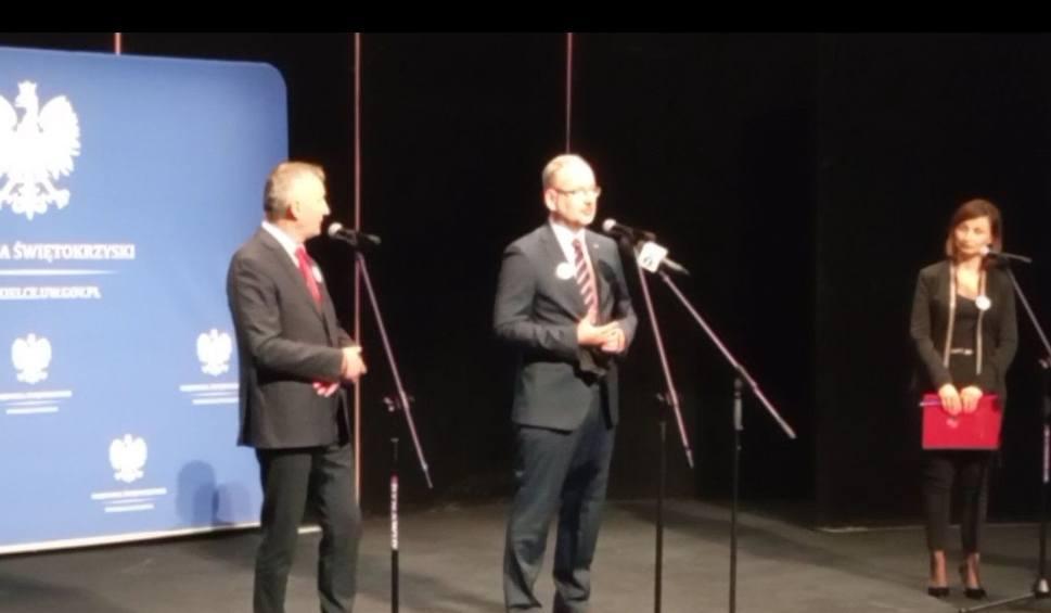 Film do artykułu: Minister zdrowia Adam Niedzielski w Kielcach: Najwięcej hospitalizacji w dwóch województwach [Zapis transmisji]