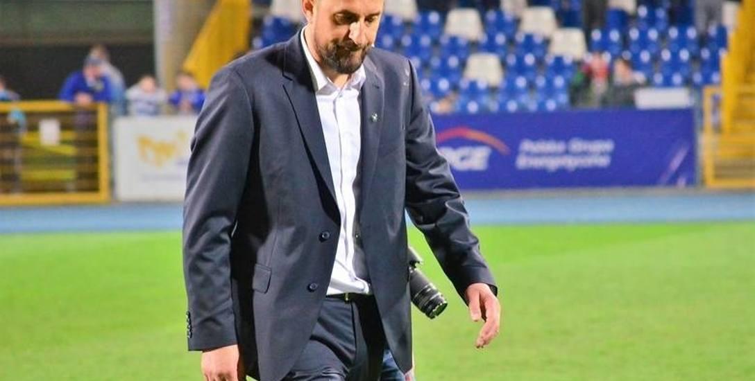 Zbigniew Smółka był trenerem Stali Mielec przez 20 miesięcy