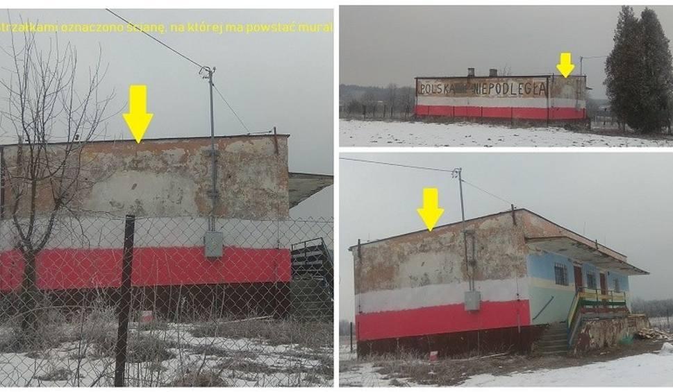 Film do artykułu: Piękny mural ozdobi zniszczony budynek starej zlewni mleka w Wiązownicy - Kolonii? Mieszkańcy zbierają pieniądze