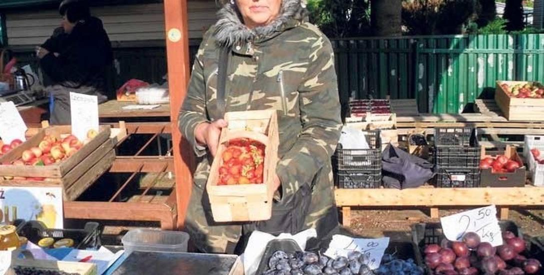Danuta Tachasiuk zaprasza po słodkie truskawki