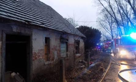 Opuszczony pustostan został prawdopodobnie podpalony