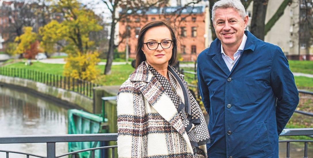 Luiza Gruntkowska i Mikołaj Konopka: Dolne Miasto już dziś gigantycznie się zmienia