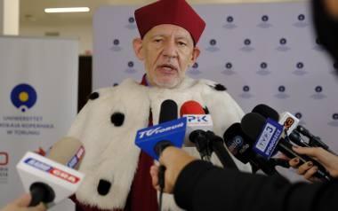 Prof. Andrzej Sokala, rektor Uniwersytetu Mikołaja Kopernika w Toruniu, który zajął 5.miejsce wśród najlepszych uniwersytetów w Polsce wg. rankingu